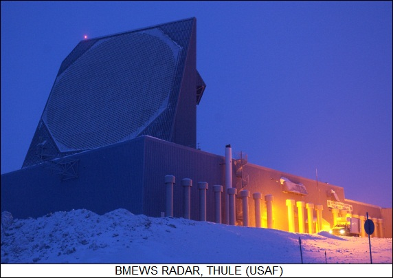 BMEWS radar at Thule