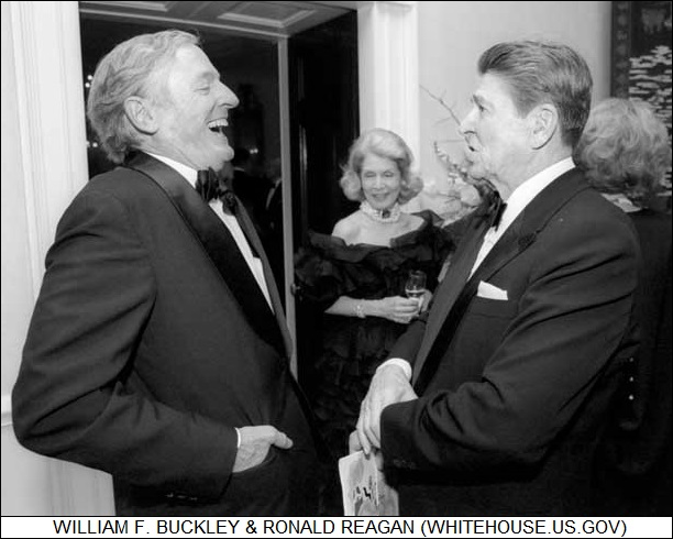 William F. Buckley & Ronald Reagan