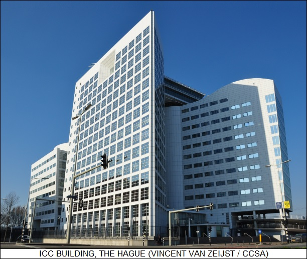 ICC building, the Hague