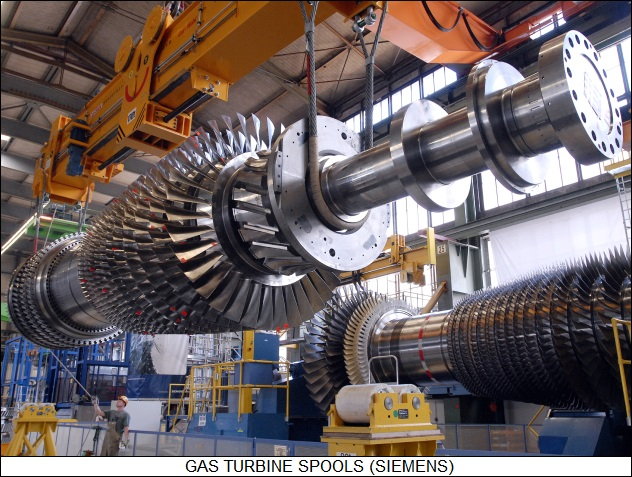 gas turbine spools