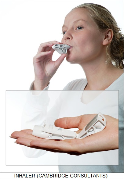 low-cost vaccination inhaler