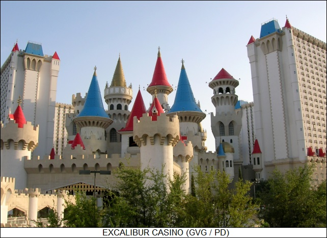 Excalibur casino in Las Vegas