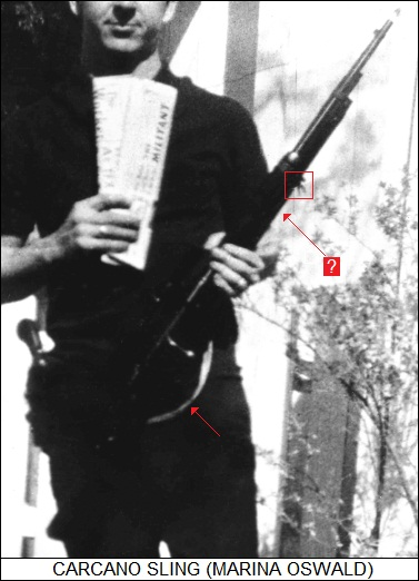 the sling in the Fascist Hunter photo