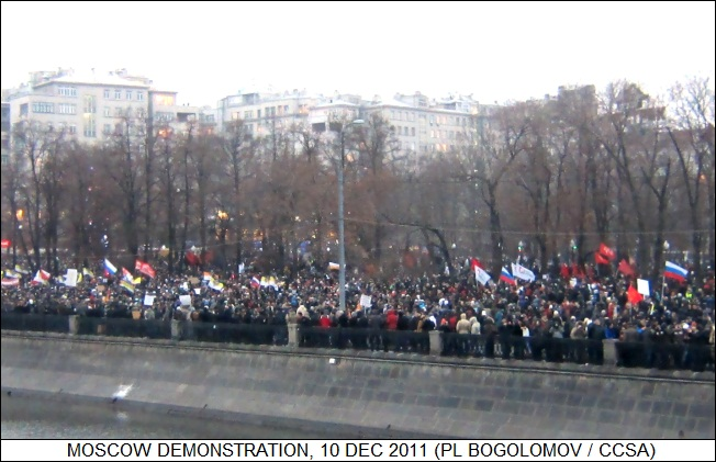 Moscow demonstrations, 10 December 2011