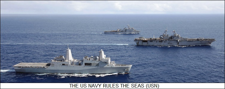 the US Navy rules the waves