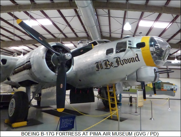 B-17G Fortress at Pima Air Museum