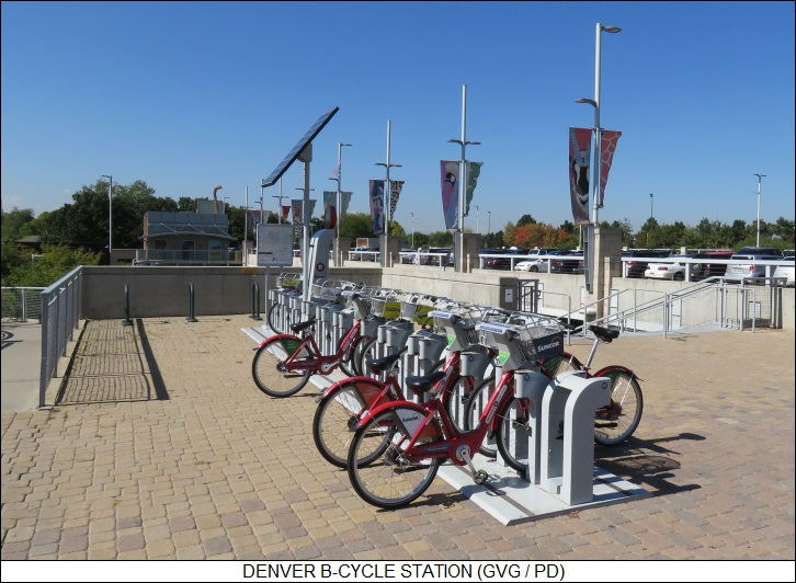 Denver B-Cycle station