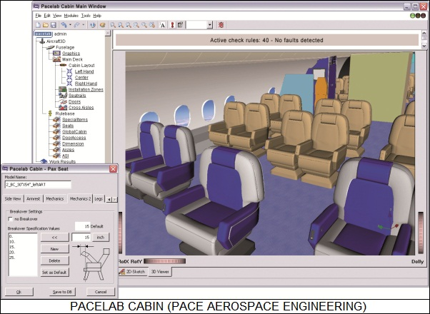 Aircraft Interior Design Software
